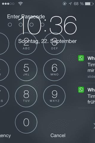 iOS 7 mistakes