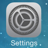 iOS7 settings icon