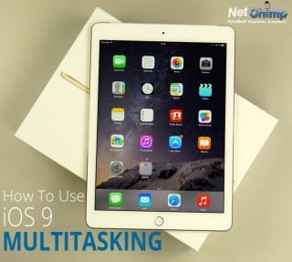how to use ios 9 multitasking on ipad