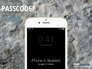unlock iphone passcode error disabled