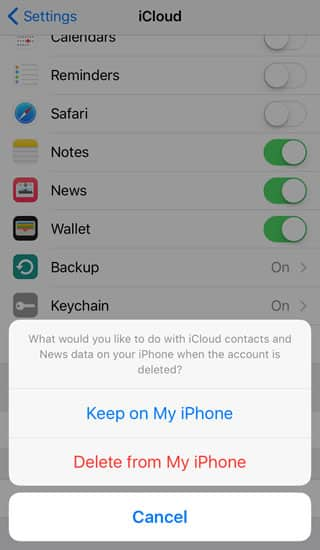icloud delete contacts news