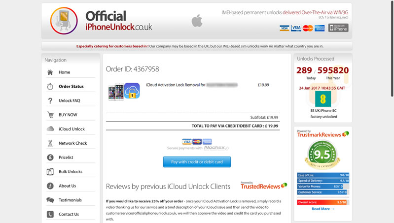 Official iPhone Unlock - Step 03